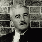 Picture of William Faulkner,  Novels set in the American South