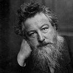Picture of William Morris,  Arts and Crafts Movement