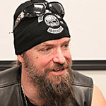 Picture of Zakk Wylde,  Power guitarist for Ozzy Osbourne