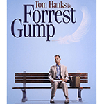 Picture of Forrest Gump movie, '' life is like a box of chocolates''
